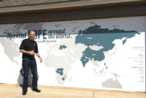 Jeff Rutt of HOPE International